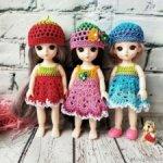 Платья одежда для Baboliy Баболи, Lati yellow, Pukifee Лати, Пукифи
