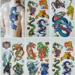 Татуировки для кукол