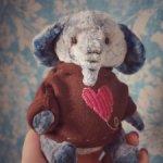 Тедди слоняша Валентин.