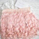 Локоны на шкурке для кукольных волос