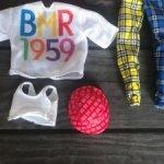 Аутфит Барби БМР 1959 / Barbie BMR 1959 вторая волна Дива / Мидж