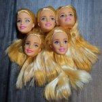 Лот новые голов Барби Милли / Barbie Millie
