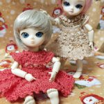 Одежда для куколок Ai, Еви, Hujoo