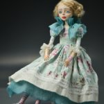 Будуарная кукла ручной работы единственный экземпляр