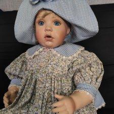 Фарфоровая малышка от Ruth Mattingly