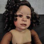 Этническая девочка от Marion Blarir. Нюд!