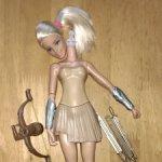 Тело куклы Чудо-женщины из набора с луком и стрелами