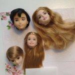 Головы кукол Маттел - 2