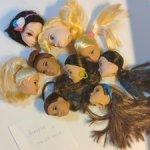 Головы кукол Маттел и не только