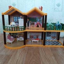 Домик для куколок L.O.L и им подобным с мебелью! Кошечка Лили в подарок!