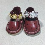 Ботиночки на текстильную куклу 4.5 см по стельке