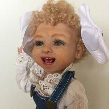 "Шарнирная кукла ""Варвара"""