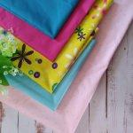 Лоскут ткани для пошива одежды для кукол