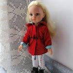 Курточка ветровка красная