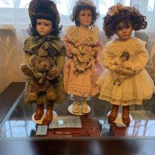 """Маленькие мамы. фарфоровые куклы Памелы Филлипс коллекция """"Вчерашние мечты"""""""