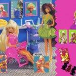 Cut and Style Barbie Salon Барби Кат
