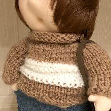 Моя текстильная кукла и проблема выбора волос