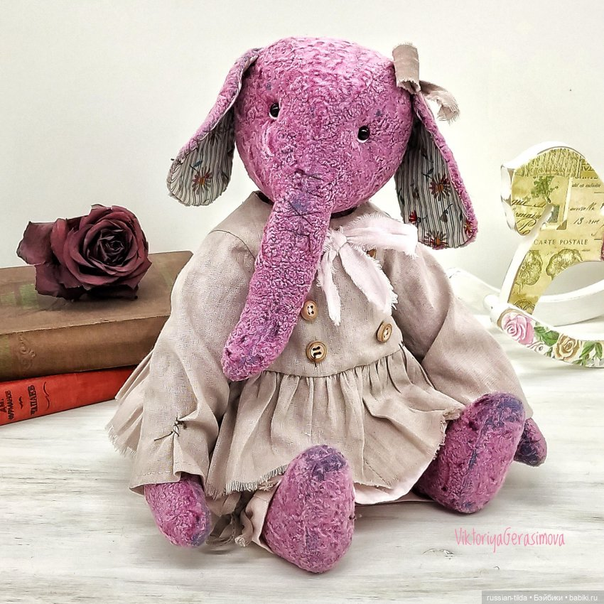 Слоник девочка Лилу