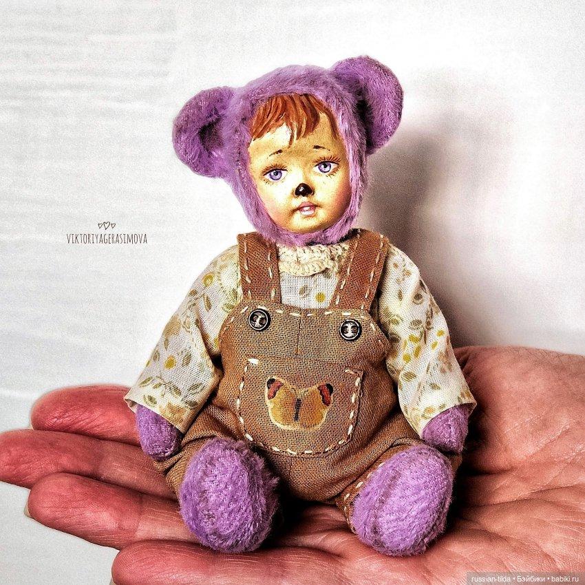 Мишка тедди-долл