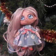 Моя авторская куколка-брелок