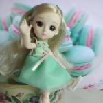Новая шарнирная кукла- малышка