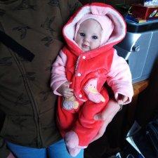 Кукла реборн из молда Dumplin