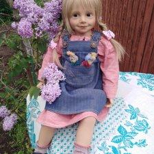 Коллекционная кукла EVA от Sieglinde Frieske