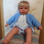 Новая кукла испанской фирмы BERJUAN