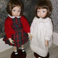 Голубоглазые сестрички «Bedtime Jenny» by Dianna Effner