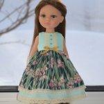 Платье для куклы Паола Рейна и подобных кукол