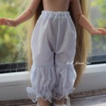 панталончики из хлопка для кукол Паола Рейна 34 см