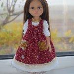 платье и сарафан для кукол Паола Рейна 34 см