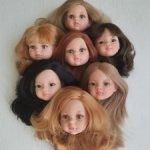 Головушки от новых кукол Паола Рейна