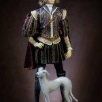 """Интерьерная кукла """"Юный герцог""""."""