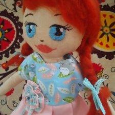 Шьем большую игровую куклу