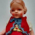 Керамическая немецкая куколка