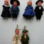 Куколки в национальных костюмах