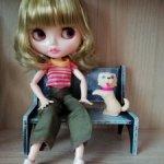Кукла тип Neo Blyth, нюд