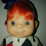 Кукла пупс Инесс