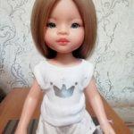 Кукла Маника с длинными волосами