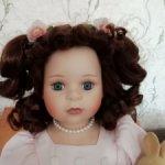 Фарфоровая кукла Deko Puppen