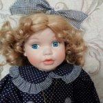 Фарфоровая кукла Country dolls