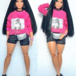 Свитшот на пышку Barbie