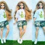 Комплект на пышку Barbie
