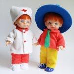 Лот из 2-х кукол - Незнайка и доктор Пилюлькин