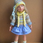 Одежда для кукол Готц 48-50 см