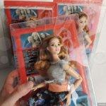Оригинальная Кукла Barbie Made to move Рыжая Пышка
