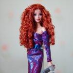 Колекционная кукла Барби Сияние города Рыжая City Shine 2014