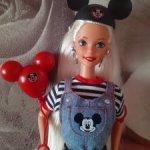 Кукла барби Микки Маус