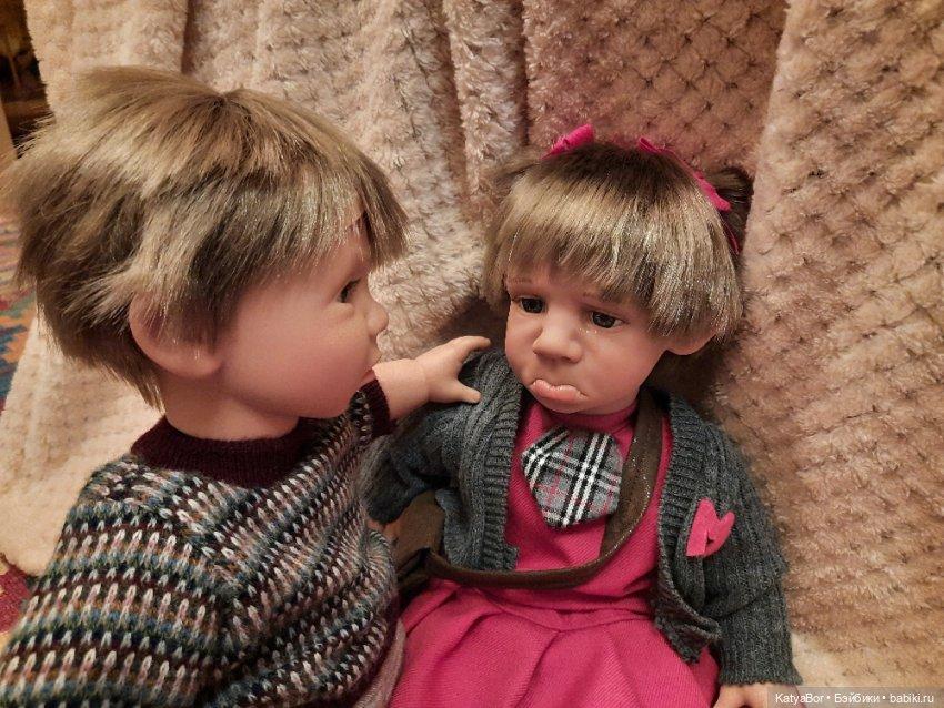 Прыгающий мальчик В слезах Gestitos Magic Baby Характерные куклы Испанские куклы